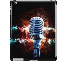 Vintage microphone iPad Case/Skin