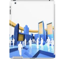 City blueprint  iPad Case/Skin