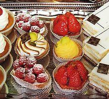 Cream And Fruit Delight by Alexandra Lavizzari
