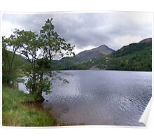 A Lake in Snowdonia Poster
