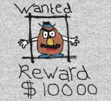 Wanted - Mr Potato Head by YounesChergui