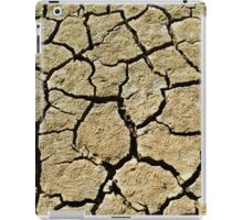 Cracked soil  iPad Case/Skin