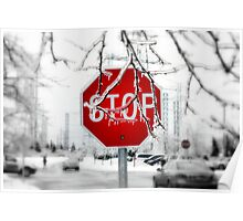 Iced Stop Poster