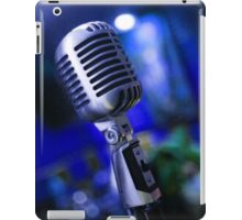 Retro microphone iPad Case/Skin