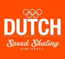Dutch - Speed Skating (White) by moombax