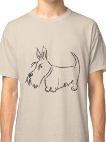 Scottie Love Scribble Classic T-Shirt