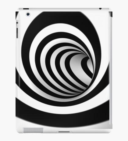 swirl background iPad Case/Skin
