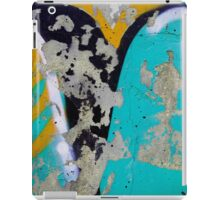 wall painted background iPad Case/Skin
