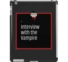 Interview With The Vampire iPad Case/Skin