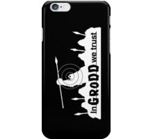 GRODD (White) iPhone Case/Skin