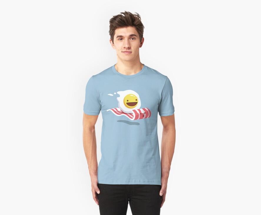 Egg Bacon Buddies by crula