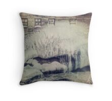 Sherbrooke city Throw Pillow
