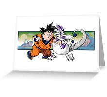 Family Guy Z - Goketer VS Cheeza Greeting Card