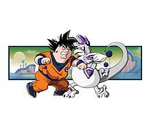 Family Guy Z - Goketer VS Cheeza Photographic Print