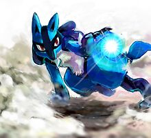 Trials of Lucario by Colin Donegan
