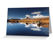 Blackmount Reflection Greeting Card
