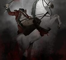 Headless horseman (Sleepy Hollow) by SanFernandez