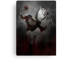 Headless horseman (Sleepy Hollow) Canvas Print