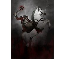 Headless horseman (Sleepy Hollow) Photographic Print