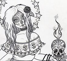 Sugar Skulls by Witchipoo