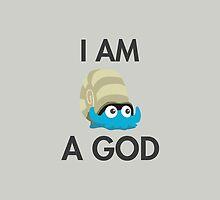 Twitch Plays Pokemon: I Am A God - iPhone/Galaxy Case Light/Dark by Twitch Plays Pokemon