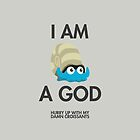 Twitch Plays Pokemon: I Am A God (Featuring Croissants) - iPhone/Galaxy Case Light/Dark by Twitch Plays Pokemon