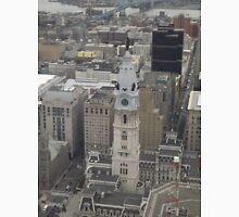 Aerial View, Historic Philadelphia City Hall, One Liberty Observation Deck, Philadelphia, Pennsylvania Unisex T-Shirt
