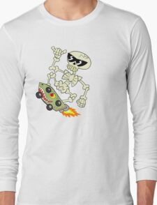 Rad Skeleton Long Sleeve T-Shirt