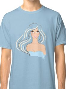 Beautiful woman Classic T-Shirt