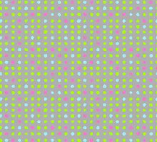 Watercolor pattern design by SonneOn