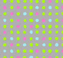 Watercolor pattern design Sticker