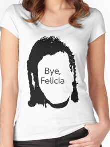 Bye Felicia Women's Fitted Scoop T-Shirt