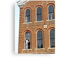 Window Measuring Canvas Print