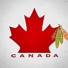 Blackhawks Team Canada Poster by fohkat