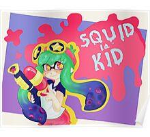 Squid Kid Poster