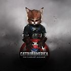 Cattain America - Furriest Avenger by ThegfxSyndicate