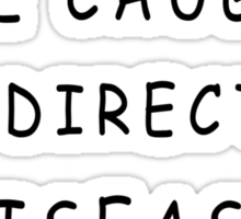 One Direction Disease Sticker