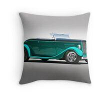1934 Ford 'Full Fendered' Roadster Throw Pillow