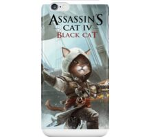 Assassins Cat iPhone Case/Skin