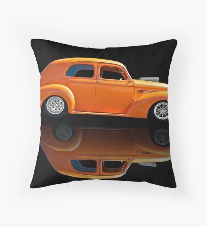 1938 Willys Two-Door Sedan Throw Pillow