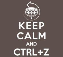 Keep calm and ctrl+z One Piece - Short Sleeve