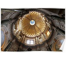 Dome of Cathedral of Siena Poster