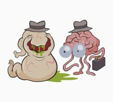 Brains and Guts by bogleech