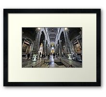 Siena Cathedral Framed Print