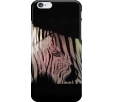 Melting Pixel Zebra iPhone Case/Skin