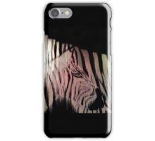 Melting Pixel Zebra iPhone Case/Skin