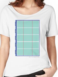 Olympic Swimming Pool Women's Relaxed Fit T-Shirt