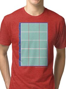 Olympic Swimming Pool Tri-blend T-Shirt