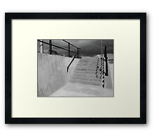 stair way of life  Framed Print