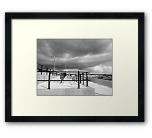 Rise in the light  Framed Print